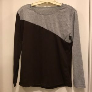 Tops - Color block t-shirt